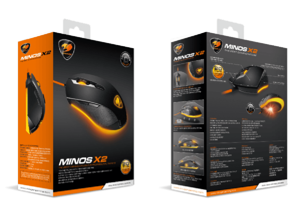 Cougar Minos X2 Option Mouse 3000DPI